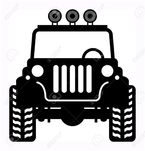 offroad jeep cj jeep mud clip art vector cliparts