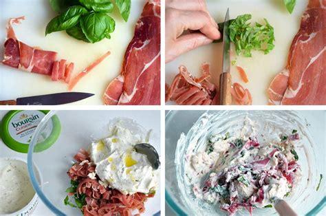 cuisine boursin ravioles au boursin cuisine et au jambon cru