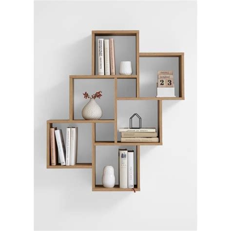 Awesome wood wall shelf convex world market with bracket. New home accents canada #decorationaccessories | Wall ...