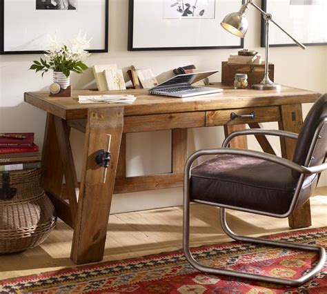 pottery barn computer desk bench style office desks from pottery barn small and