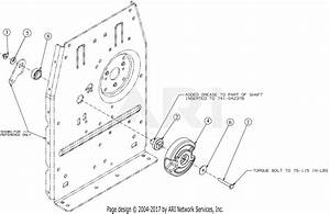 Troy Bilt 23aaaa8x711 Flex Mower  2016  Parts Diagram For