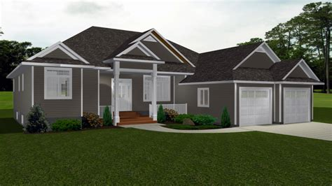 New One Story House Plans by One Story Bungalow House Plans Canadian Bungalow House