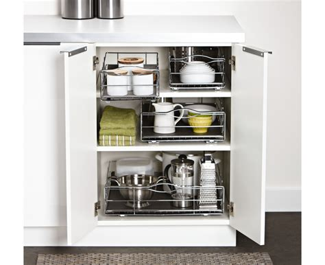 simplehuman 14 in pull out cabinet organizer simplehuman 9 inch pull out cabinet organizer