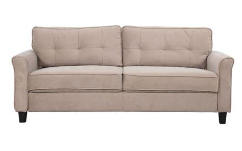Agnes Classic Microfiber Sofa