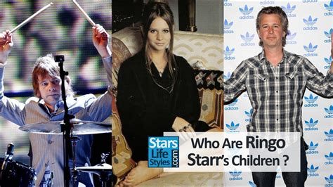 Who Are Ringo Starr's Children ? [1 Daughter And 2 Sons
