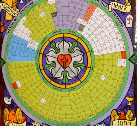 litergical calendar lutheran calendar template