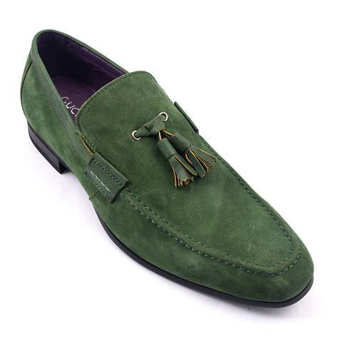orange mens shoes find olive suede tassel loafer gucinari mens loafers