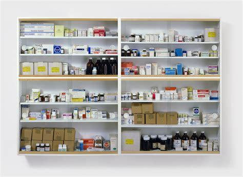 Medicine Cabinet Pharmacy boredom nowhere damien hirst