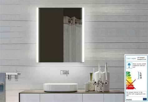 neues bad de neuesbad led alu spiegelschrank b 600 h 700 mm
