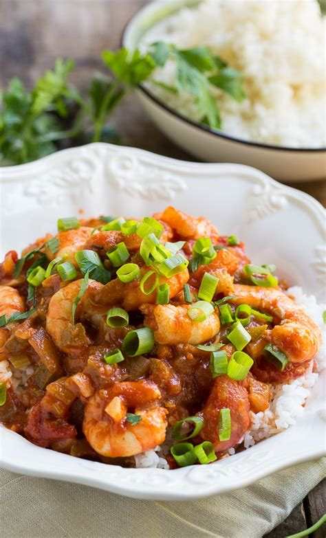 easy shrimp creole spicy southern kitchen