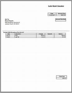 rental invoice template free to do list With rental invoice template