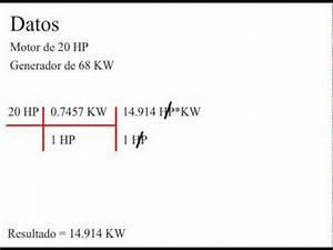 Conversion Kw En Cv Fiscaux : c mo convertir de hp a kw youtube ~ Gottalentnigeria.com Avis de Voitures