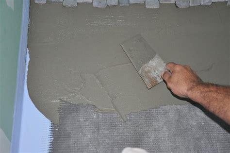 comment poser des galets sur le sol d une italienne bricobistro