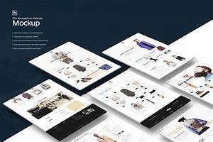 The Perspective Website Mockup by KL Webmedia on Envato