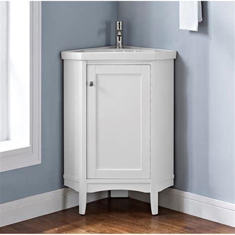 fairmont designs shaker americana  corner vanity