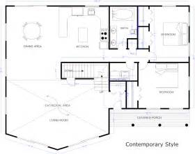 home blueprints blueprint software try smartdraw free