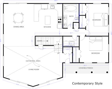 how to draw floor plans for a house blueprint maker free app