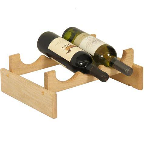 Wine Display Rack   3 Bottle in Wine Racks