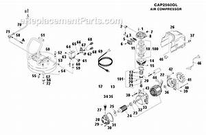 Bostitch Cap2560ol Parts List And Diagram