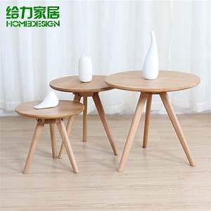 Ikea Table Bois : petite table ronde bois massif table basse ikea ~ Teatrodelosmanantiales.com Idées de Décoration
