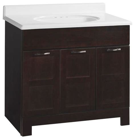 Glacier Bay Bathroom Cabinets by Glacier Bay Cabinets Casual 36 In W X 21 In D X 33 1 2