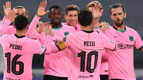 Barcelona beats Ronaldo-less Juventus 2-0 in crucial ...