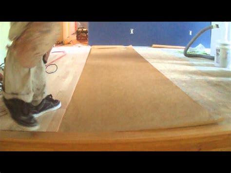 Floor Muffler Underlayment Nail by Nail Hardwood Floor Underlayment How To