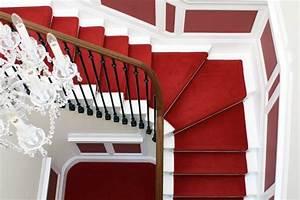 Escalier Colimaçon Pas Cher : le tapis pour escalier en 52 photos inspirantes ~ Premium-room.com Idées de Décoration