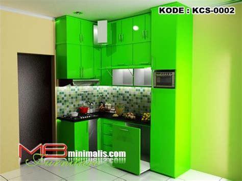 kitchen set minimalis hijau mb minimalis  toko