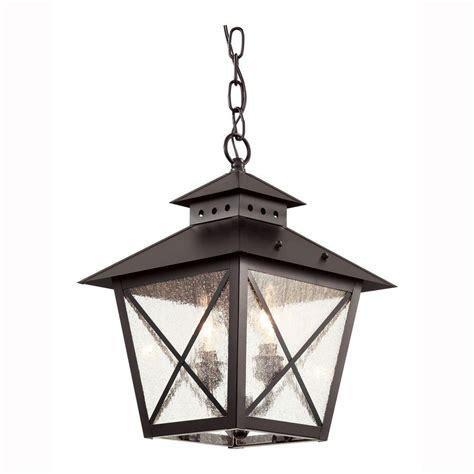 outdoor ls home depot bel air lighting farmhouse 2 light outdoor hanging black