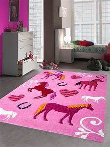 Teppich Kinderzimmer Rosa : kinderteppich spielteppich kinderzimmer teppich pferde pink rosa ebay ~ Yasmunasinghe.com Haus und Dekorationen