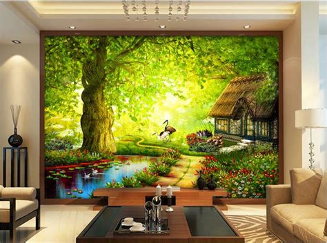 wallpaper custom mural  woven room wall sticker