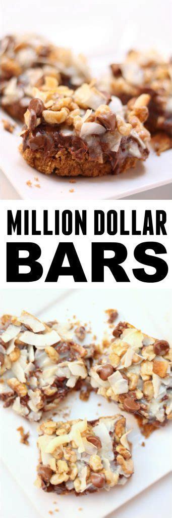 Million Dollar Bars   Six Sisters' Stuff