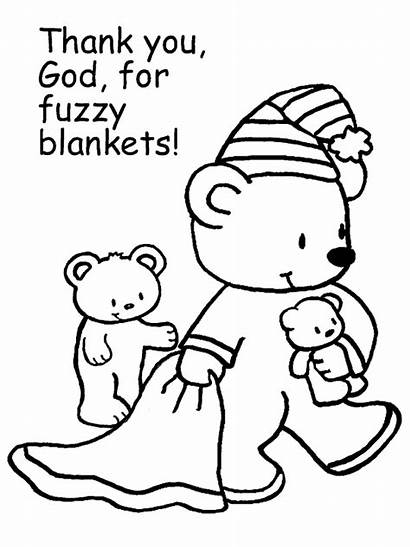 Coloring Teddy Pages Bears Bear Fall Blanket