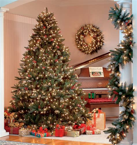 The Best Prelit Artificial Christmas Trees  A Very Cozy Home