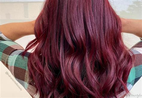 jaw dropping dark burgundy hair colors