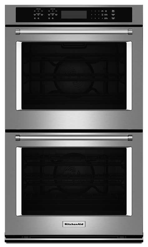 kitchenaid kodeess   double wall oven   cu ft capacity  heat true