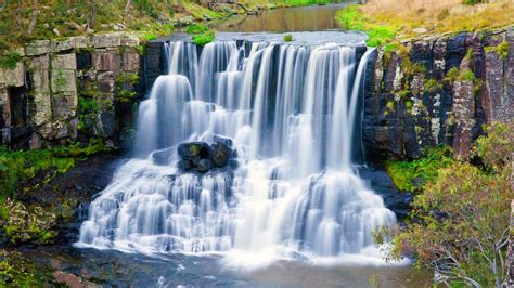 eagle falls cascading waterfall   river guy fox