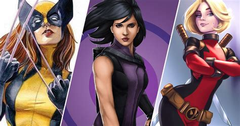 20 Marvel Characters Reimagined As Girls | ScreenRant