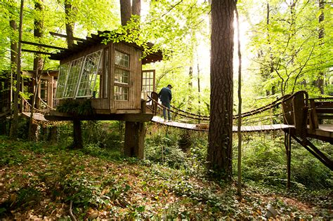 Tree House Airbnb Inside The Buckhead Tree House You Can Rent On Airbnb