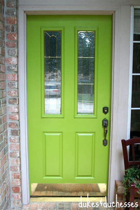 frugal front door painting ideas tip junkie