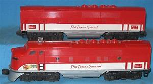 Motive Power - Diesels - F3 - 2245 Texas Special