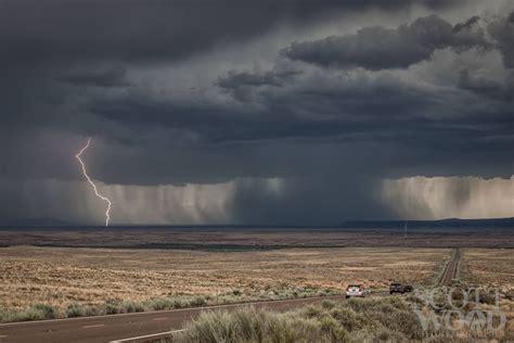 lightening storm   desert desert lightning storm