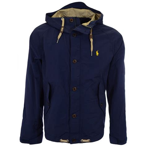 Polo Ralph Lauren Blue Tree Lined Anorak Jacket Polo