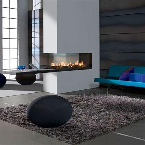 lineafire fireplaces room divider medium