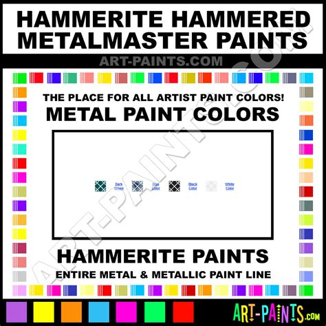 hammerite hammered metalmaster metal paint colors