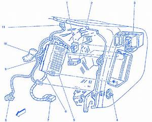 Chevrolet Sail 2000 Transmission Dash Electrical Circuit Wiring Diagram