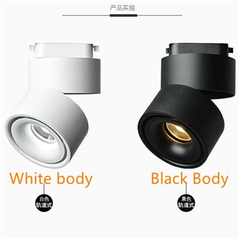 Pcs High Power Cob Led Track Lights Dimmable