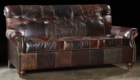 Usa Made Sofa 1 Red Hot Leather Sofa Usa Made Lost Look