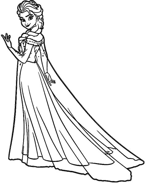 elsa coloring pages coloring home